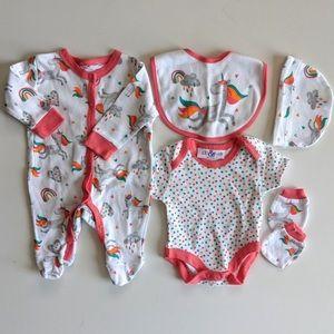 Lily & Jack - 5 Piece Newborn Set